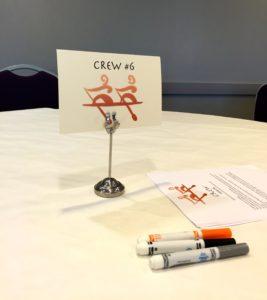 Crew Table